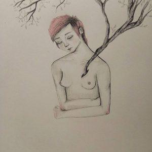 bosque en el corazón